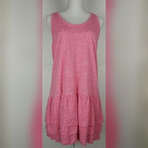 Victoria's Secret pink heathered sports dress Med.
